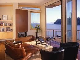 gray wall open concept floor plan mounted tv oversized lamp modern
