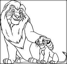 lion king coloring pages color zini