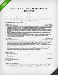 Best Resume Formats For Engineering Students by Electrical Engineer Resume Example Sample Software Engineer