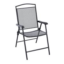 Patio Accents by Living Accents Seville Folding Wrought Iron Chair Set Of 4