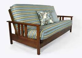 warm cherry twin chair wall hugger futon set by strata furniture