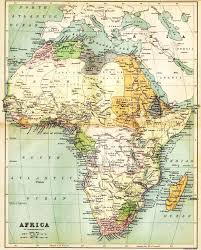 Map Of Kenya Africa by Historical Map Of Africa In 1885 Nations Online Project