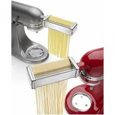 Kitchen Aid Pasta Maker by Kitchenaid Pasta Attachments Simple Kitchen With Glossy Red