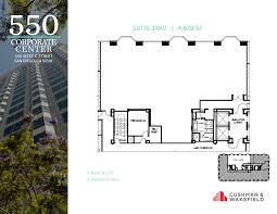San Diego Convention Center Floor Plan by 550 Corporate Center 550 West C Street 14th Floor Unit 1450 Vts