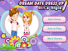 Dream Date Dress Up Girls Style