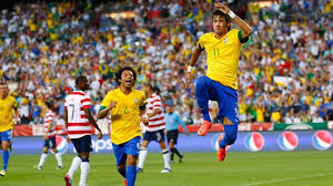 Pertandingan Uji coba Brasil vs USA