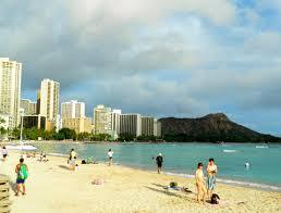 Map Of Waikiki Waikiki Beach Oahu Hawaii