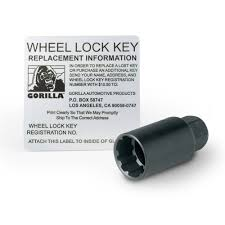 amazon com gorilla automotive 71631n acorn wheel locks 12mm x