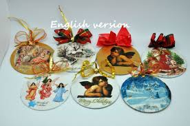 Christmas Decorations Diy by Christmas Ornaments Diy With Cd And Napkin Recycled Diy Youtube