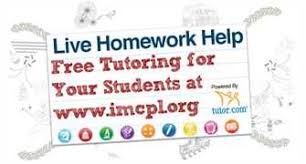 Why not get help with your homework online  too  Live Homework Help Chats Many websites offer live homework help  where you can chat or ask questions other