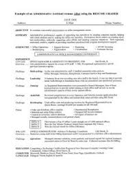 Administrative Assistant Resume Objective Examples by Examples Of Resumes 81 Interesting Easy Resume Basic Australia