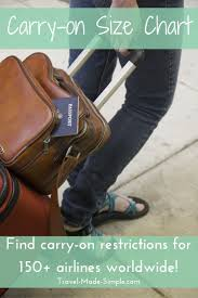 best 25 carry on baggage size ideas on pinterest carry on size