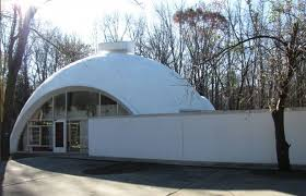 Japanese Dome House 1964 Styrofoam Dome House Built By Robert Schwartz A Student Of