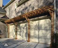 Small Pergola Kits by Garage Door Trellis Or Arbors A Frame Garage Three Car Garage 3