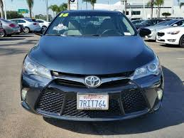 all toyota lexus san diego 2016 used toyota camry 4dr sedan i4 automatic xse at bmw of san