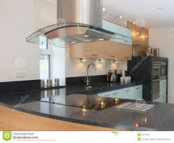 luxury modern kitchen interior stock image image 4217491