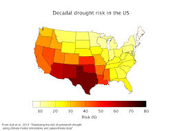 Drought Map Usa by Megadrought Ecrl Emergent Climate Risk Lab Earth