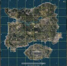 G Map Playerunknown U0027s Battlegrounds Best Drop Points And Map Overview