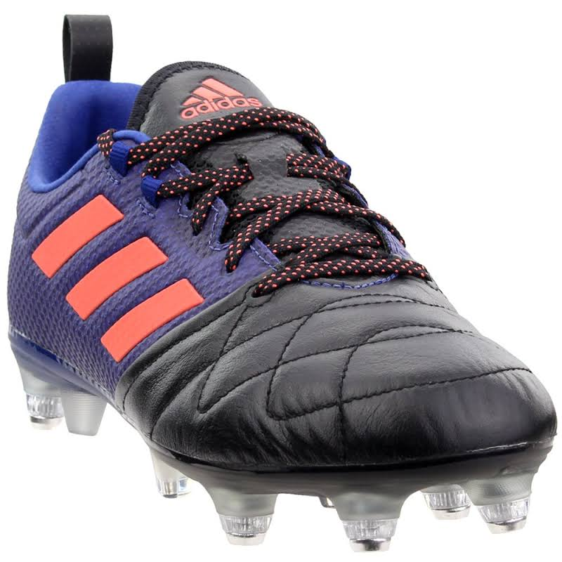adidas Ace 17.1 Soft Ground Soccer Shoes Navy- Womens