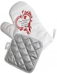 tablier de cuisine personnalisable gant de cuisine personnalisé et manique idée cadeau 28