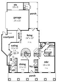 73 best courtyard floor plans images on pinterest house floor
