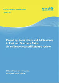 Building Resilience Literature Review Primary Education   Early Years  QTS