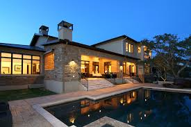 luxury home design with beautiful swimming pool hupehome