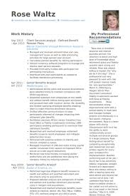 Client Services Resume Samples   VisualCV Resume Samples Database