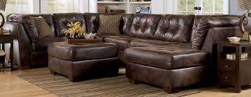 furniture best choice of brown leather sectional with chaise to