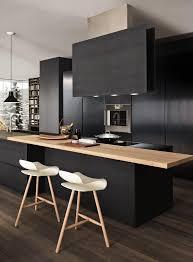 Black Kitchen Designs Photos 25 Absolutely Charming Black Kitchen Interiorforlife Com Pale Wood