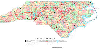 Map Of West Virginia Counties North Carolina State Map With Cities Georgia Map