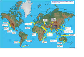 Time Change Map Part 1 H Erectus In The Americas The Pericues Proof Of Homo