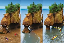 epic summer adventures with kids in canada Hopewell Rocks NB