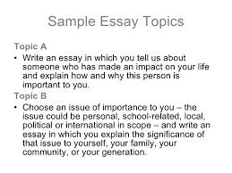 essay for high school application examples