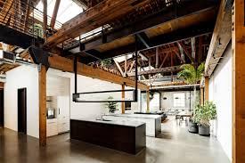 Warehouse Turned Into A Loft Office Interior Design Ideas - Warehouse interior design ideas