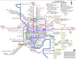 Metro Manila Map by Subways Transport