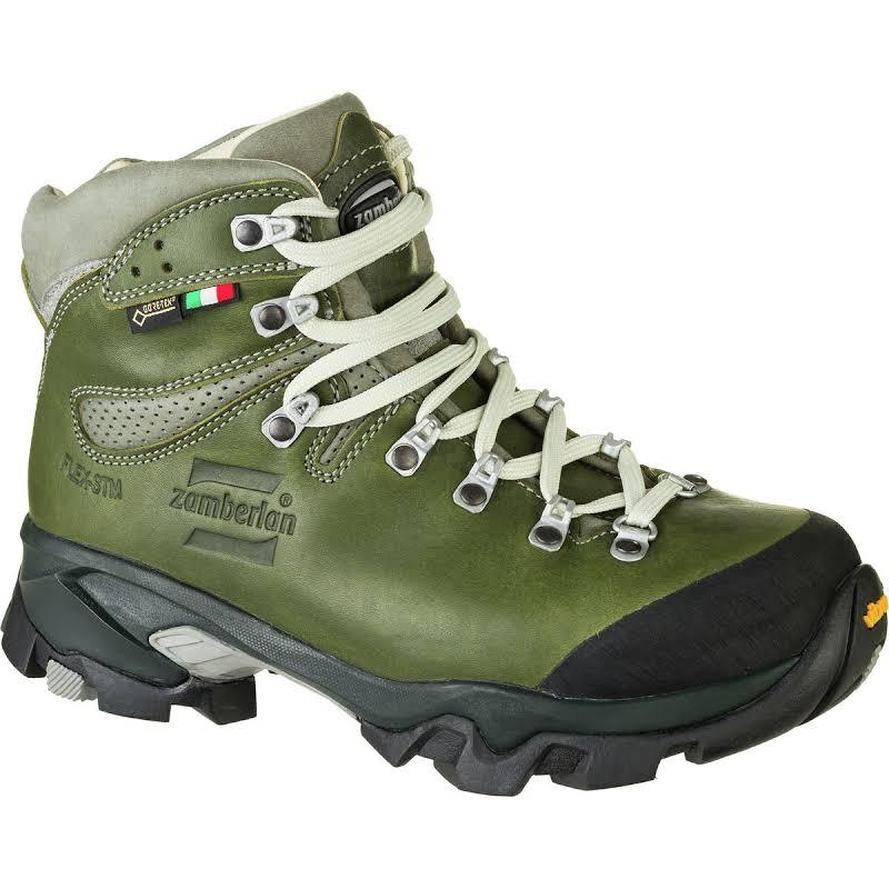 Zamberlan Vioz Lux GTX RR Backpacking Boots Waxed Green Medium 6.5 1996GRW-Medium-6.5