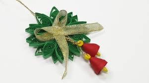 Homemade Christmas Decorations by Paper Quilling Diy Christmas Quilling Ornament For Homemade Xmas