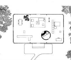 House Plans Architect Philip Johnson Glass House Floor Plan Architecture Pinterest