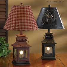 country lamps and decorative lighting solutions for primitive