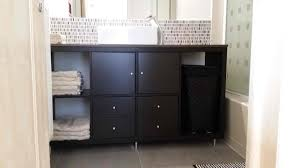 bathroom vanities for small bathroom kallax bathroom vanity for small bathroom ikea hackers ikea