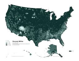 Population Density Map United States by Radicalcartography