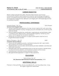 academic advisor resume sample resume entry level finance resume entry level finance resume