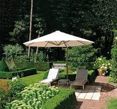 Offset Patio Umbrella offset patio umbrella aluminum acrylic swiveling p7