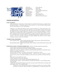 Day Care Teacher Job Description For Resume by Day Care Teacher Job Description For Resume