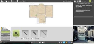 Free Software To Create Floor Plans by Free Floor Plan Software Roomsketcher Review