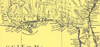 Map Florida Gulf Coast by When Florida Touched The Mississippi The Florida Memory Blog