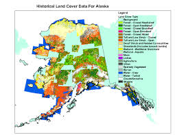 Juneau Alaska Map by Alaska Land Cover Data Sets