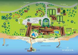 Map Of Waikiki Warwick Fiji U2013 Luxury Coral Coast Hotel And Resort