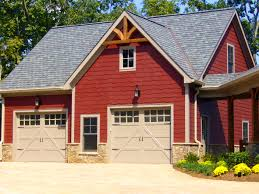Modern Style Garage Plans Apartments Captivating Nestor Woods Style One Car Garage Plans